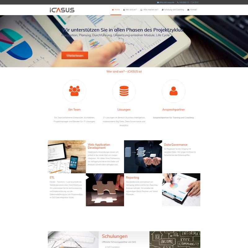 Profesjonalna strona internetowa dla niemieckiej firmy