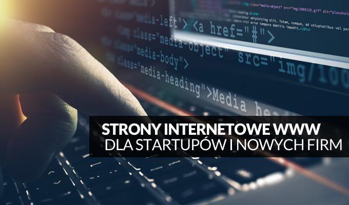Tworzenie stron internetowych dla startupów i nowych firm